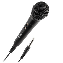 NGS Singerfire mikrofon pro karaoke 3m kabel jack