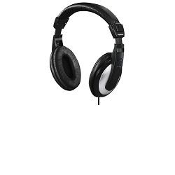 HAMA sluchátka HK-5619 drátová uzavřená, 6m kabel