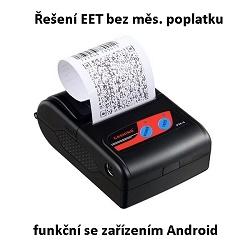 EET účtenka zdarma + mobilní tiskárna pro Android