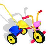 Merkur Dětská Tříkolka Baby Trike s vodící tyčí