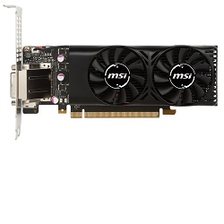 MSI GeForce GTX 1050 2GT LP PCI-E 2GB GDDR5 DVI