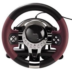 Hama Thunder V5 sada volantu a pedálů pro PC + PS3