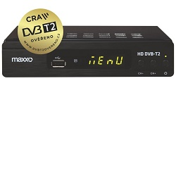 Maxxo H.265 CRA Set Top Box DVB-T2 FullHD