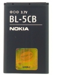 Baterie NOKIA BL-5CB - originální Li-ION 800 mAh