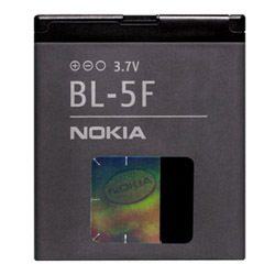 Baterie NOKIA BL-5F - originální Li-ION E65