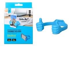 Stojánek PLUS HU108 Hands, univerzální modrý