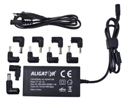 ALIGATOR adaptér 65W k notebooku z 230V univerzál