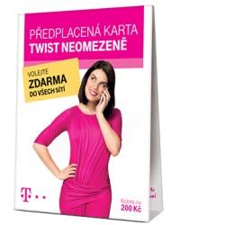 SIM karta TWIST Neomezeně s kreditem 200,- Kč
