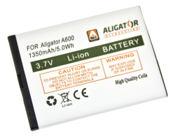 Baterie Aligator A600BAL - originální 1350mAh