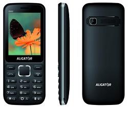 Aligator D930 Dual sim černo-stříbrný mobilní tel