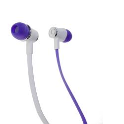 Stereo sluchátka s 3,5mm jack violet