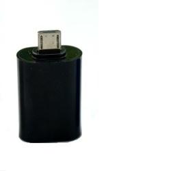 ALIGATOR Adaptér microUSB/USB OTG černý