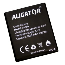Baterie ALIGATOR S4060 DUO, Li-Ion 1600 mAh, bulk
