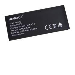 Baterie ALIGATOR S4070 DUO, Li-Ion 1500 mAh, bulk
