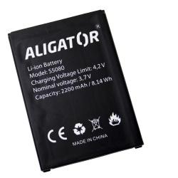 Baterie ALIGATOR S5080 Duo LTE - originální Li-Ion