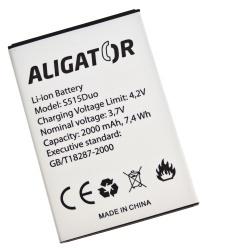 Baterie ALIGATOR S515 Duo Li-Ion 2000 mAh, bulk