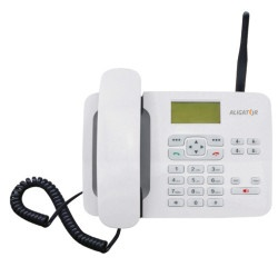 ALIGATOR T100, stolní GSM telefon, maxi anténa