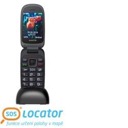 ALIGATOR V400 Senior černo-modrý + stolní nabíječ