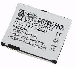 Baterie Motorola L2, L6 Li-ION 750 mA kompatibilní