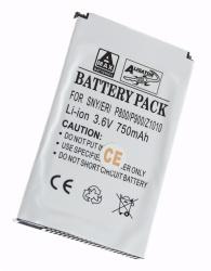 Baterie Sony Ericsson P800 Li-ION 750 mAh kompatib