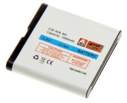 Baterie Nokia N81 E51 Li-ION 1050 mAh kompatibilní