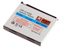 Baterie LG KC550 Li-ION 700 mAh neoriginální