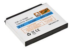 Baterie LG KU990, Li-ION 950 mAh, kompatibilní