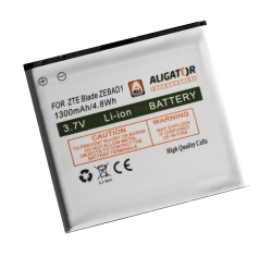 Baterie ZTE BLADE 1300 mAh - neoriginální
