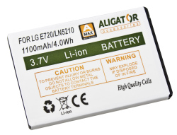 Baterie LG E720 Li-ION 1100 mAh neoriginální