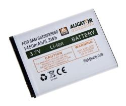 Baterie Samsung S5830 Li-ION 1450 mAh neoriginální