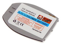 Baterie Sagem My-C3, Li-POL 850 mAh kompatibilní