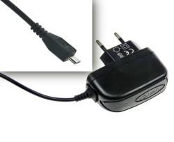 Nabíječka Micro microUSB 2A černá cestovní