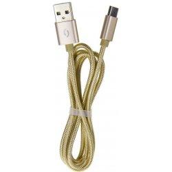 Aligator TUBA 2A datový kabel USB-C zlatý