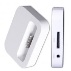 Apple Dock Station pro iPhone 3G, 4, iPod, bílý