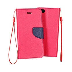 Pouzdro FANCY BOOK IPHONE 4 Pink-Navy