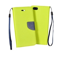 Pouzdro FANCY BOOK IPHONE 4 Lime-Navy