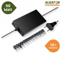 Univerzální adaptér k notebooku 90W + USB, NTA9010