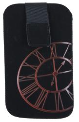 Pouzdro FRESH iPhone CLOCK red/lila 125x70x10mm