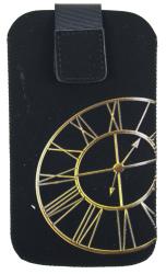 Pouzdro Aligator Fresh iPhone CLOCK zlaté 125x70