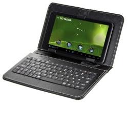 """Pouzdro Tablet 9"""" s klávesnicí microUSB černé"""