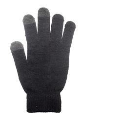 Rukavice na dotykový displej černé dámské