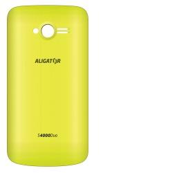 Kryt ALIGATOR S4000 DUO zadní žlutý