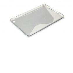 Pouzdro Super Gel Apple iPad Mini šedé, bulk