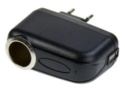 Adaptér ALIGATOR SMA0453 s USB výstupem 230V/12V
