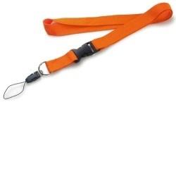 Šňůrka na krk - oranžová