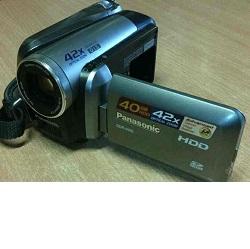 Digitální kamera Panasonic SDR-H40 s HDD použitá