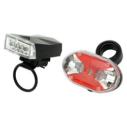 Compass 12007 světla na kolo - sada Super LED
