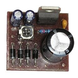 Stavebnice Stabilizovaný zdroj s LM317 V004