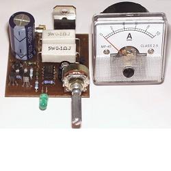 Stavebnice Nabíječka autoakumulátorů 6-12V V063