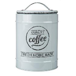 KG 101936 plechová dóza na kávu ve vintage stylu